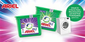 Ariel Gewinnspiel