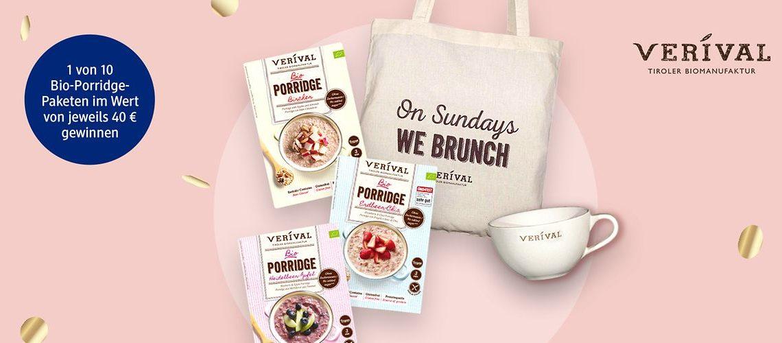 VERIVAL Bio-Porridge-Produktpaketen Gewinnspiel