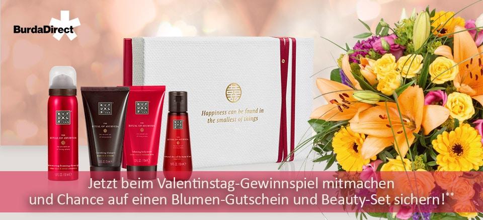 Valentinstag Gewinnspiel Burda