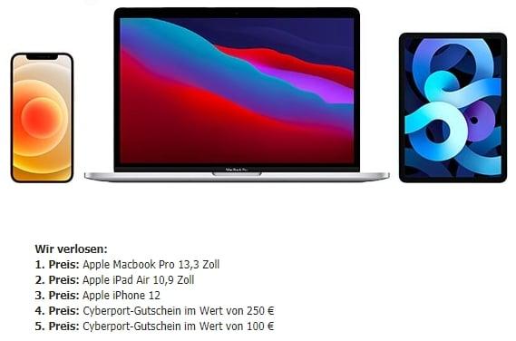 Apple Highlights Gewinnspiel