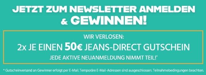jeans-direct Gewinnspiel