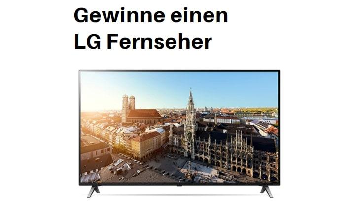 lg tv Gewinnspiel