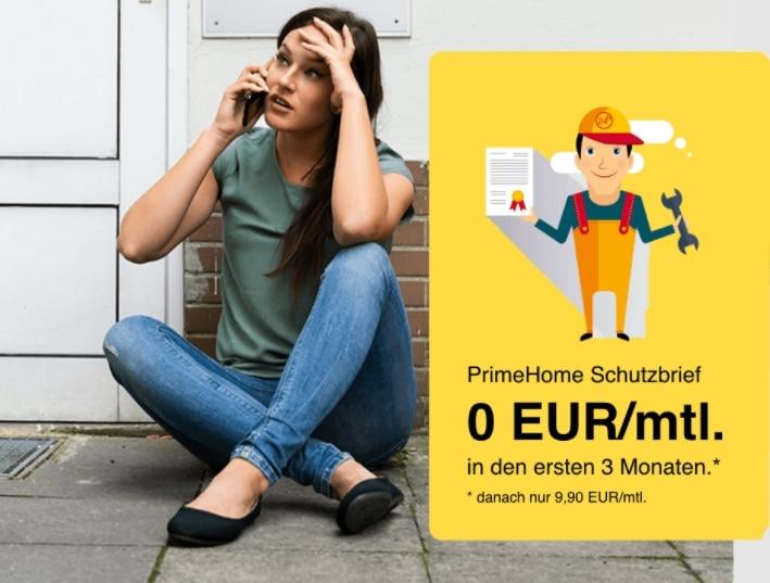 Gratis Prime Home Schutzbrief