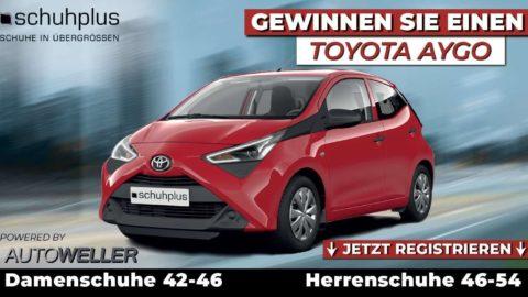 Toyota Aygo Gewinnspiel