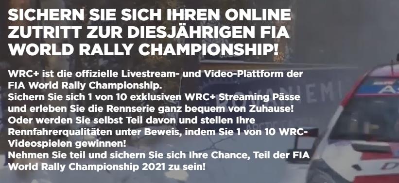 WRC Gewinnspiel