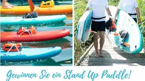 Stand-Up-Paddle Gewinnspiel