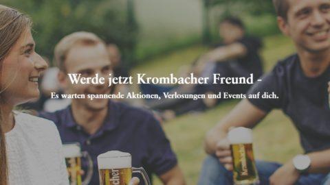 Krombacher Freunde Gratis