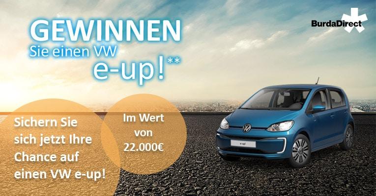 VW e-up Gewinnspiel