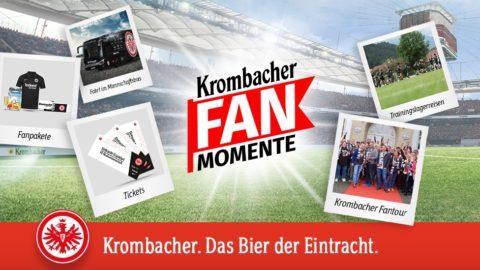 Krombacher Fan Momente Gewinnspiel