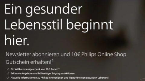 Philips Gewinnspiel gratis Gutschein